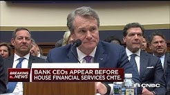 Big bank CEOS explain the biggest risks to the financial system
