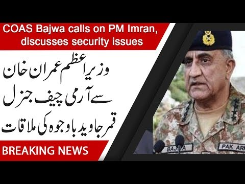 COAS Bajwa calls on PM Imran, discusses security issues   17 July 2019   92NewsHD