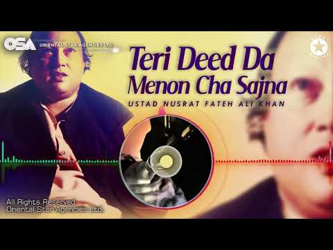 Teri Deed Da Menon Cha Sajna   Nusrat Fateh Ali Khan   complete full version   OSA Worldwide
