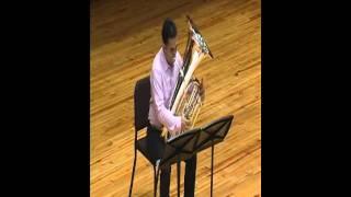 Eugene Anderson Lyri-Tech tuba solo