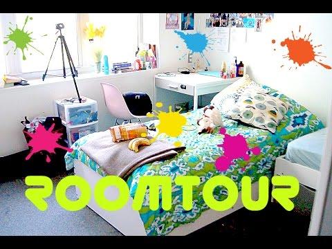 ROOMTOUR:комната студента!