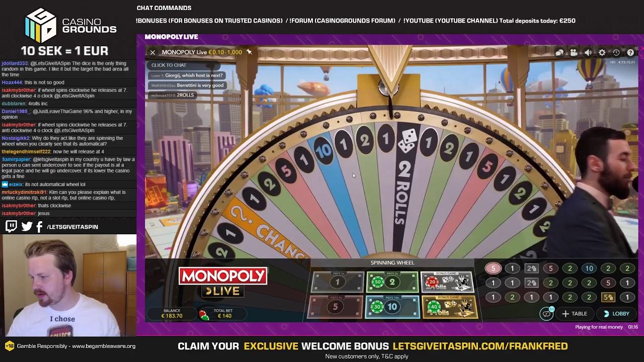 Part 2 Live Casino Slots Monday Funday 17 06 19 Youtube