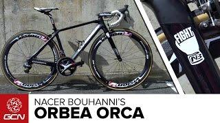 Nacer Bouhanni's Orbea Orca Pro Bike
