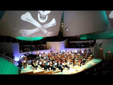 Miami New World Symphony Orchestra plays Pirates of The Caribbean - Miami Beach, FL October 4, 2015