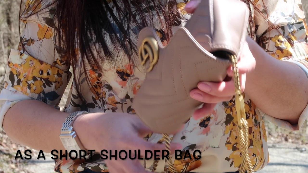 a74b984ec32 Gucci Marmont Super Mini Bag - YouTube