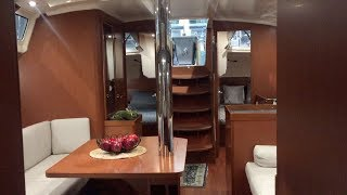 Exploring The Inside of A $400,000 Sailboat! (Boat Show)