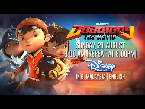 BoBoiBoy The Movie English Dub Teaser @ Disney Channel Asia