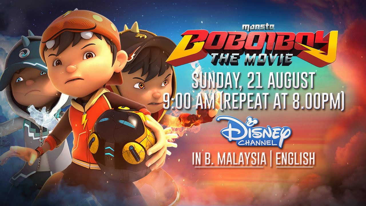 Boboiboy The Movie English Dub Teaser At Disney Channel Asia Youtube