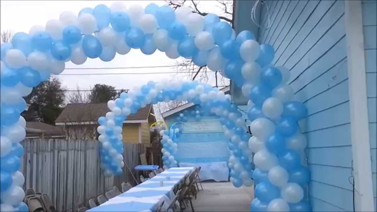 Decoracion para baby shower decoraciones j 39 s youtube for Decoracion casa shower