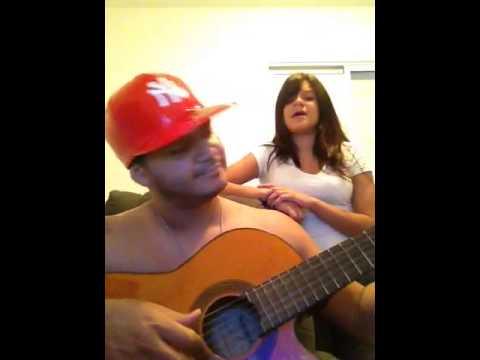 Rodrigo Oira e sua filha Gabrielli Larissa