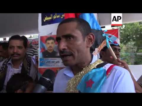 Thousands call for independence for South Yemen