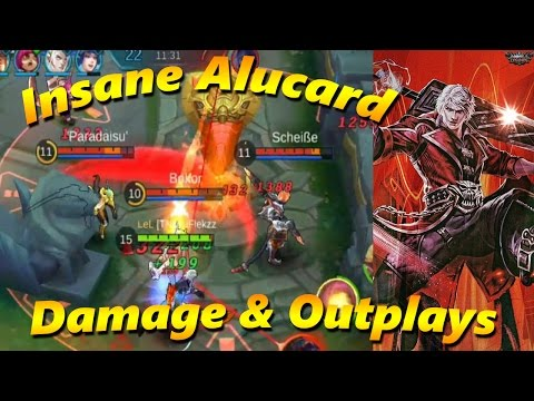 ALUCARD INSANE DAMAGE AND OUTPLAYS - Mobile Legends