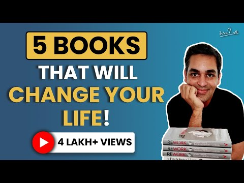 5 books that are for EVERYONE | Book Recommendations 2021 in Hindi | Ankur Warikoo Hindi