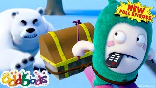 ODDBODS | Treasure Hunt Ice-capade | CHRISTMAS 2020 | NEW Full Episode | Cartoons For Kids