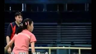 羽毛球教学 专家把脉【21】正手吊球 网前技术