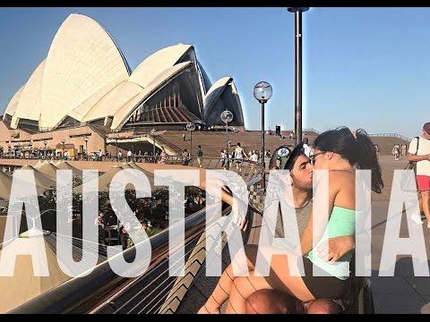 HIS FIRST TIME   AUSTRALIA VLOG 1