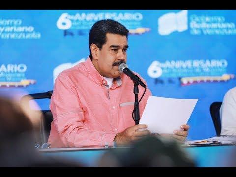 Maduro a nuevos ministros: No se dejen engañar para que no me engañen a mí ni al pueblo
