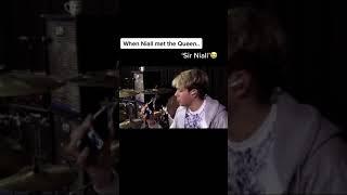 When Niall Met The Queen tiktok louisliamniallharryzayn
