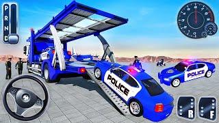 Kamyon Polis Arabaları Sürücüsü Yeni Simülatör - Polis Araçları Kargo Taşıyıcı Kamyon - Android GamePlay