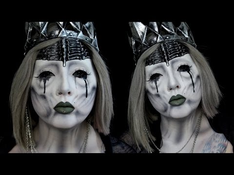 Undead Wraith Queen Halloween Makeup Tutorial ft Alex Faction