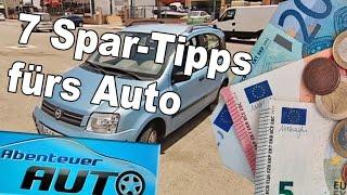 Top 7 Spar-Tipps rund um