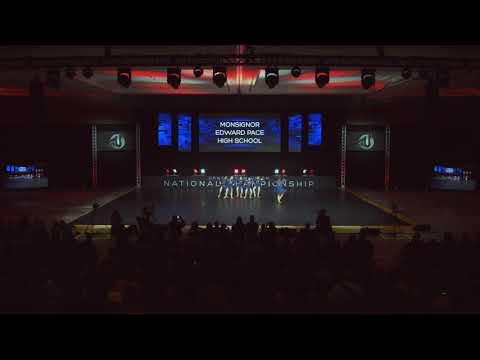 2019 DTU Nationals Finals Small Varsity Jazz Monsignor Edward Pace High School