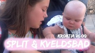 Split Amp Kveldsbad Nest Siste Dagen I Kroatia