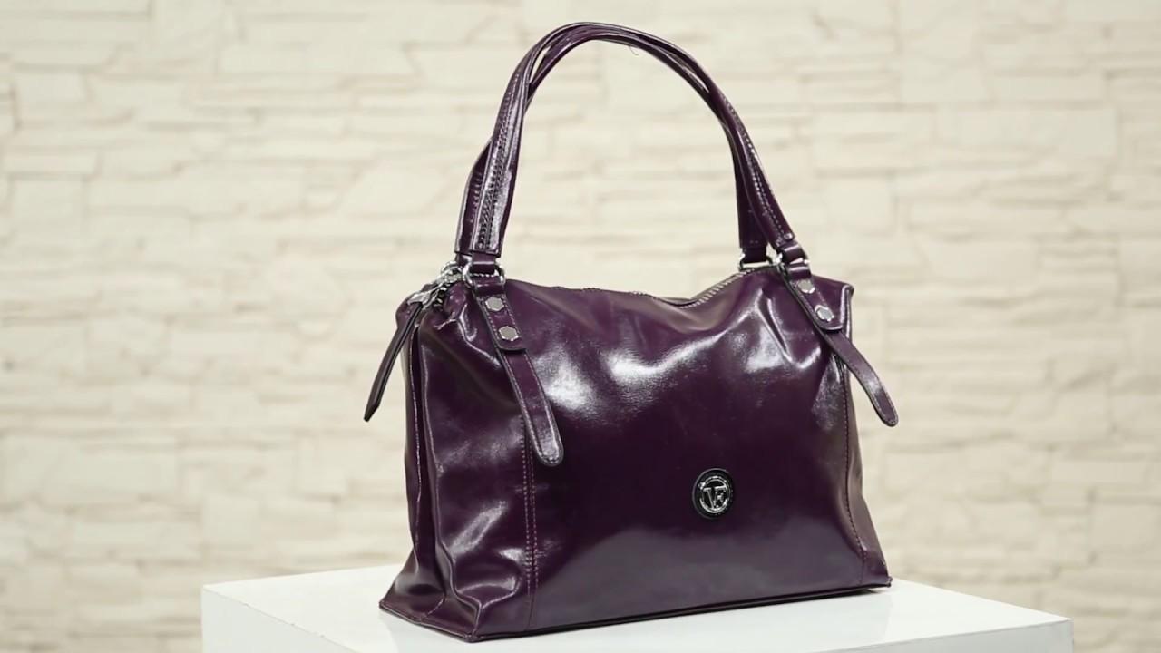 С Чем носить фиолетовую сумку? Сумка Фрезия от Oriflame - YouTube