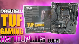 ASUS TUF Gaming X570-PLUS (WiFi) Preview & Unboxing
