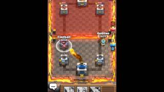 Clash Royale - How to beat a level 8 as a level 4