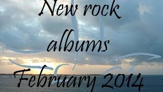 New Rock/Pop-Punk/Alternative Albums Playlist - February 2014