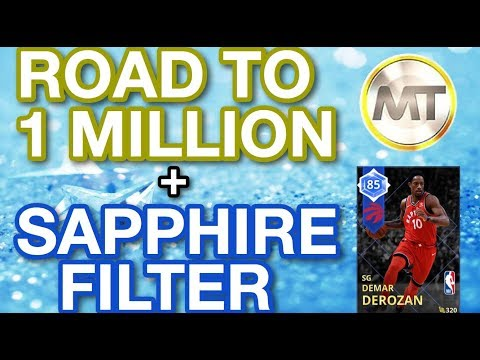 NBA 2K18 MyTEAM - New Sapphire Sniping Filter - Road To One Million MT - Episode 1