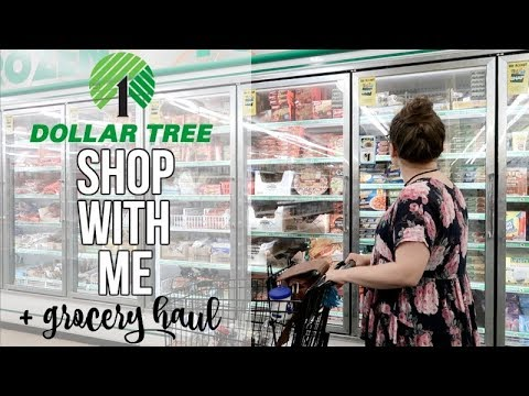 SHOP WITH ME | DOLLAR TREE | GROCERY HAUL?!?