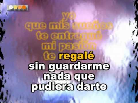 Ricardo Montaner Yo Que Te Ame Karaoke