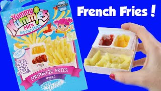 Yummy Nummies Fantastic French Fries with Ketchup and Cheese DIY Cooking Set