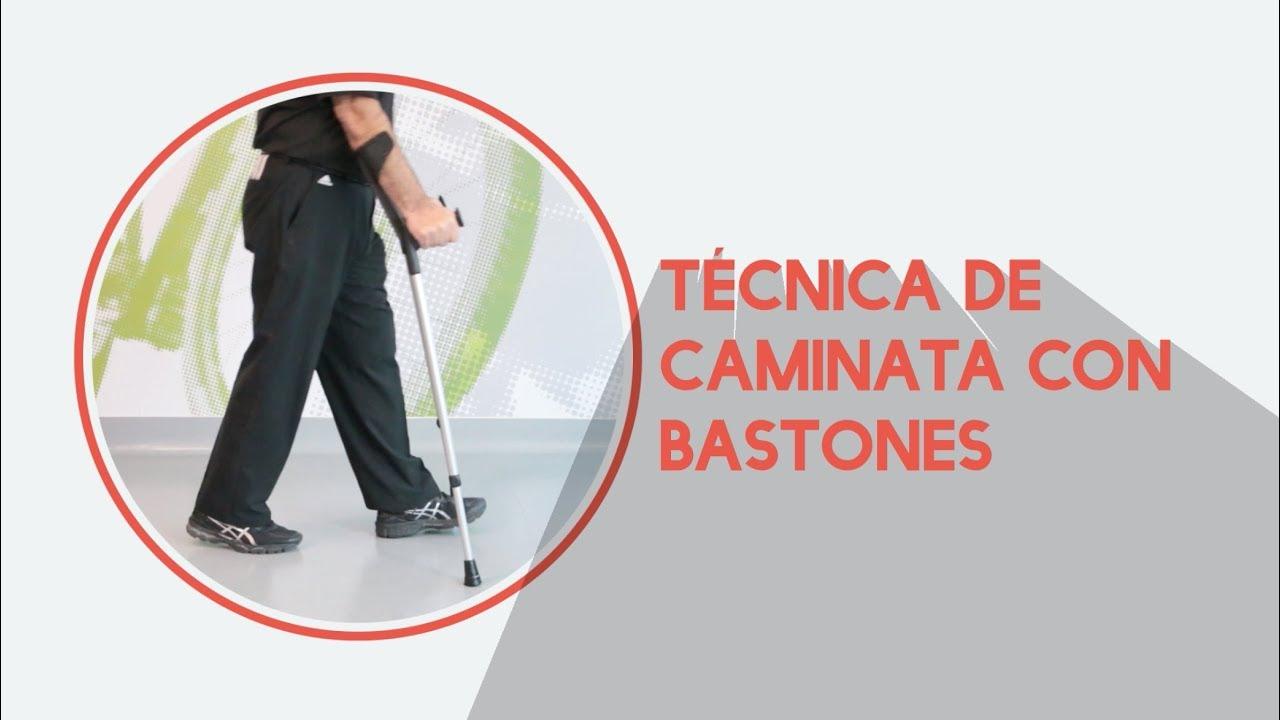 dc386006f Correcto uso de bastones - ¿Cómo caminar? - YouTube