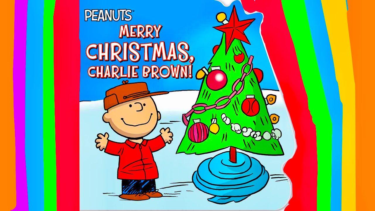 Merry Christmas Charlie Brown.Peanuts Merry Christmas Charlie Brown Book Read Aloud