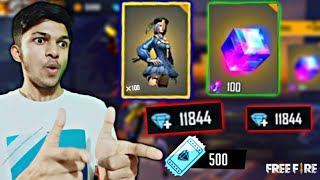 I Got 50 Magic Cube From Opening 500 Box In Diamond Royale New World Record At Free Fire