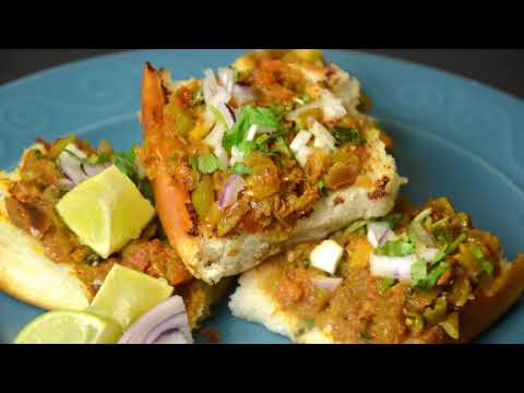 Masala Pav | Quick Breakfast OR Snack  | Indian Street Food Recipe