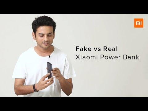 Fake Vs  Real Xiaomi Power Bank | 10 Ways To Identify