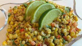 Betty's Tex-Mex Toasted Corn Salad