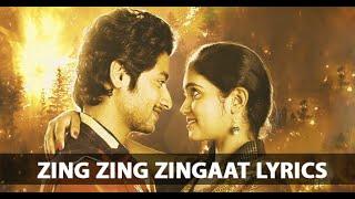 Download Hindi Video Songs - Zingat song lyrics | Ajay Atul | Zingaat