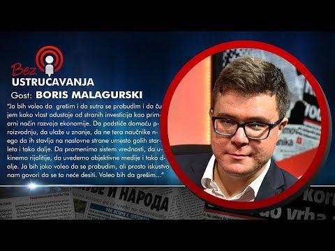 BEZ USTRUČAVANJA - Boris Malagurski: Mnogi ljudi koji su deo sistema ne bore se za Srbiju!