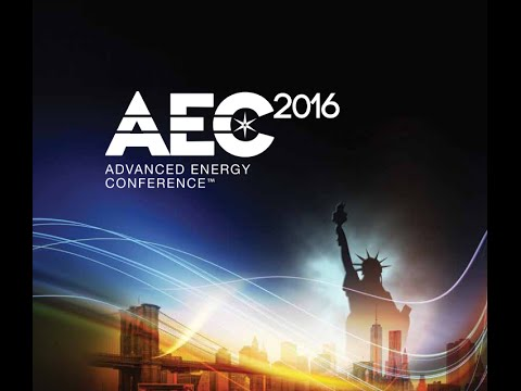 Advanced Energy Conference 2016