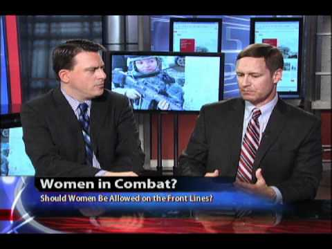 should women be allowed on the front line In this debate, i will be making a case for allowing women into front-line combat roles definitionsit is always important to provide your definitions in a debate i will take the debate.