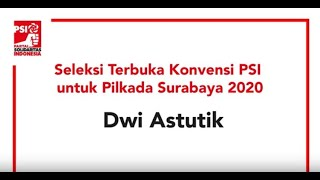 Dwi Astutik - Bakal Kandidat Kepala Daerah Surabaya 2020