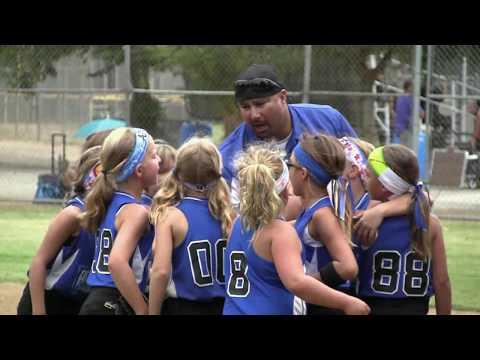 Thousand Oaks Girls Softball 8U Gold All-Stars vs. Newbury Park - 7-21-2013