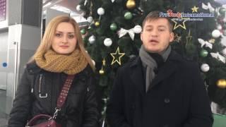 Стажировка и обучение в США. Наша первая выпускница украинского Вуза улетела в январе в США! )))
