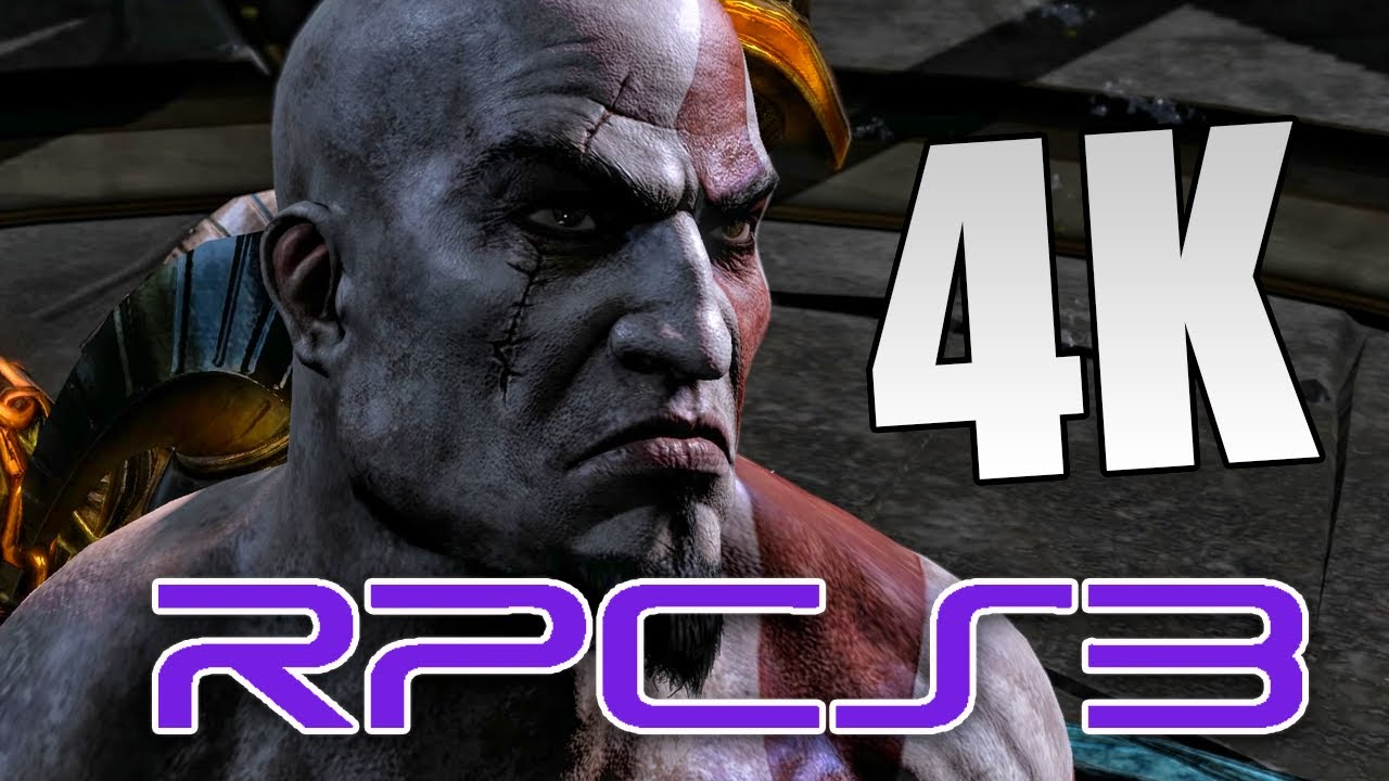 GOD OF WAR 3 (RPCS3) | GAMEPLAY EM 4K NA CUSTOM BUILD | GTX 1070 + I7 9700K