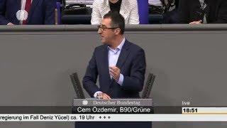Bundestagsdebatte zum Fall Fall Deniz Yücel vom 22.02.18 thumbnail